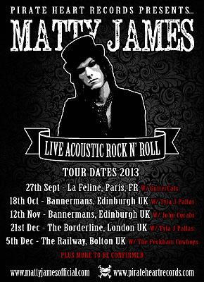 Matty-James-Tour-2013-Poster