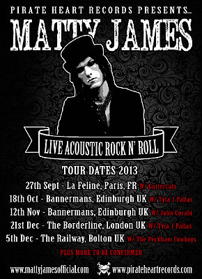 Matty-James-Tour-2013-Poster